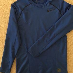 Nike Pro cold weather baseball dri-fit top